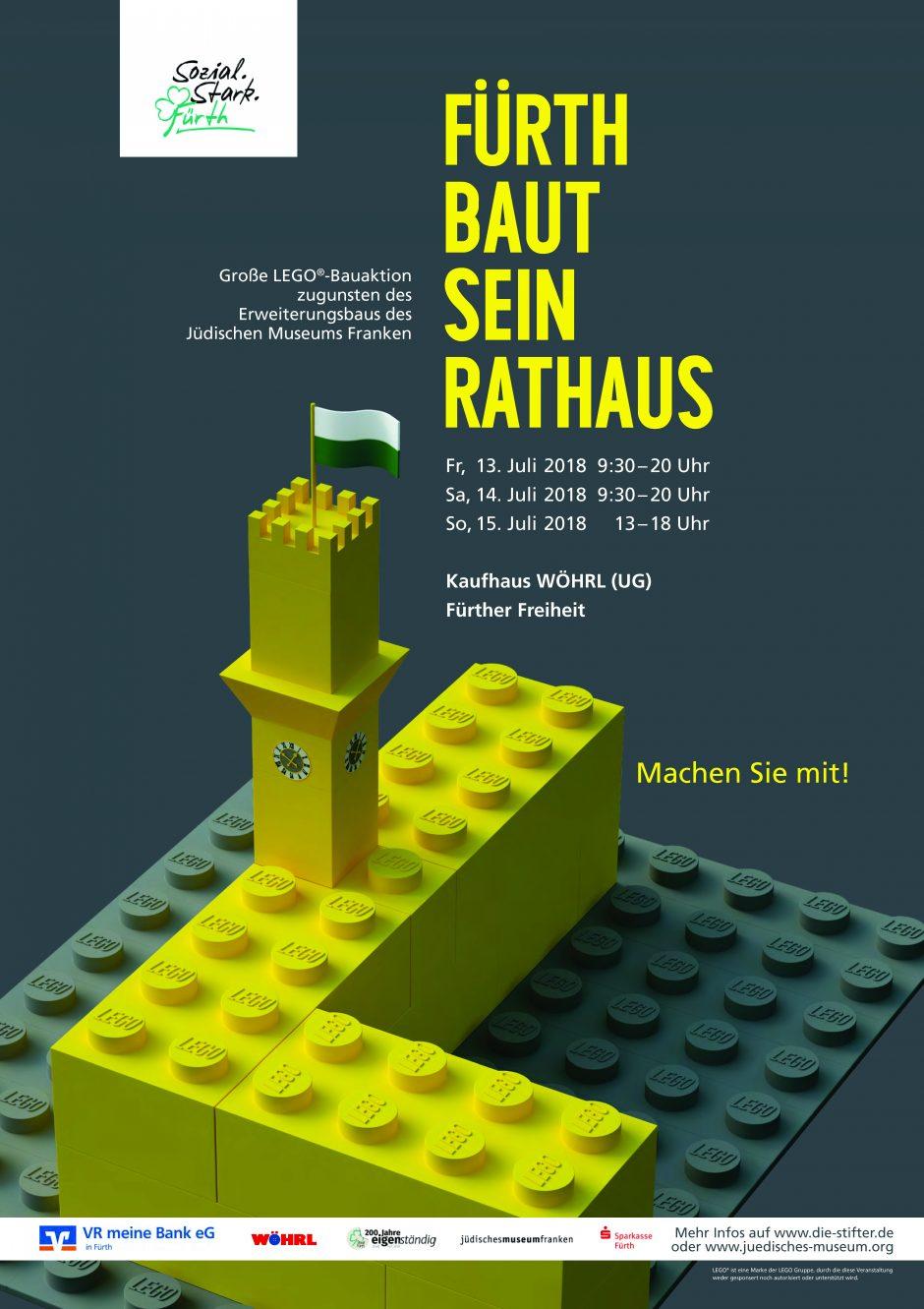 LEGO®-Rathaus für den guten Zweck