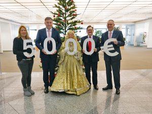 """Sparkasse Fürth unterstützt """" Freude für alle """" mit 5.000 Euro"""