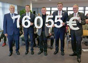 Über 76.000 Euro aus der Stiftergemeinschaft der Sparkasse Fürth für Einrichtungen in Stadt und Landkreis