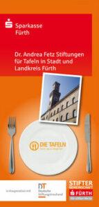 Dr. Andrea Fetz Stiftungen für Tafeln in Stadt und Landkreis Fürth